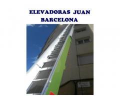 PLATAFORMA ELEVADORA PARA MUDANZAS 100€ - BARCELONA