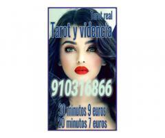 oferta Visa 30 minutos 9 euros tarot, videntes y médium