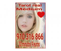 Tarot real 30 minutos 9 euros  videntes y médium