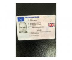 Buy quality passport,identity card ,DVLA License