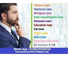 ¿Necesitas finanzas? ¿Estás buscando finanzas? ¿Estás buscando financiación para ampliar tu negocio