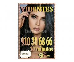 Tarot real 30 minutos 9 euros  videntes y médium  fiables