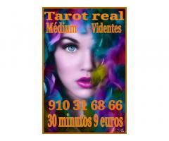 Tarot real 30 minutos 9 euros  videntes y médium   certero fiables económico
