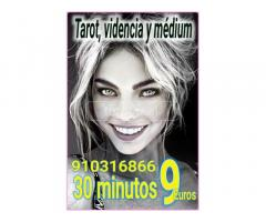 Tarot real 30 minutos 9 euros  videntes y médium fiables económico