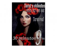 Tarot real 30 minutos 9 euros  videntes y médium