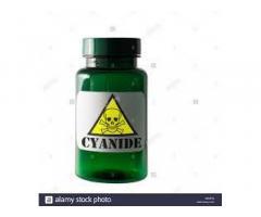 Venta de cianuro de potasio 99% (pastillas y polvo)