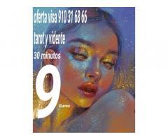 Tarot 30 minutos 9 euros  videntes y médium  oferta
