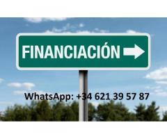 OFRECIENDO PRÉSTAMOS Y ASISTENCIA FINANCIERA EN SERIO whatsapp : +34  621 39 57 87