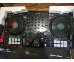 Pioneer DDJ-1000  = 550EUR,  Pioneer DDJ-SX3  = 550 EUR, Pioneer CDJ-3000 DJ Multi Player = 1400 EUR