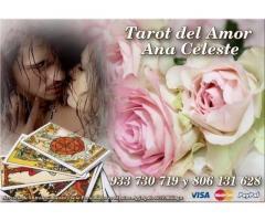 VIDENTE Y TAROTISTA ESPAÑOLA ANA CELESTE 806 DESDE 0.42€/M