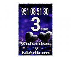 3 euros videntes y tarot  806 /minutos 0.42 €