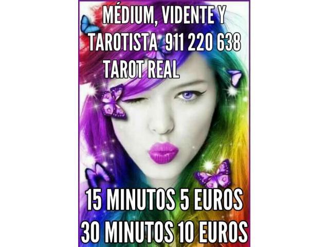 Tarot y videntes 15 minutos 5 euros