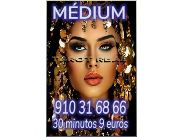 Tarot, videncia y médium 30 minutos 9 euros  económico oferta visa