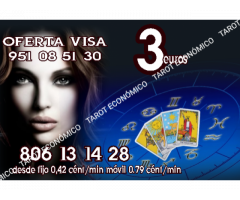Tarot 10 minutos 3 euros y 806 desde 0.42 €/ min