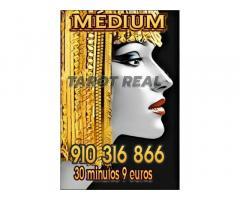 Tarot, videncia y médium 30 minutos 9 euros  oferta