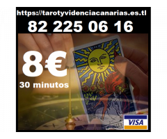 Tarot visa 8 € los 30 minutos fiable