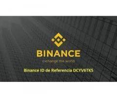 Binance ID de Referencia DCYV6TK5