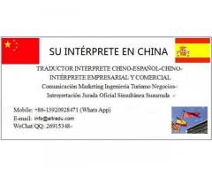 Traductor interprete Chino Español En Qingdao Jinan Shanghai China