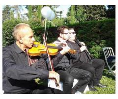 Violín, violonchelo, flauta, dúo, trío musical, eventos, toda Cataluña